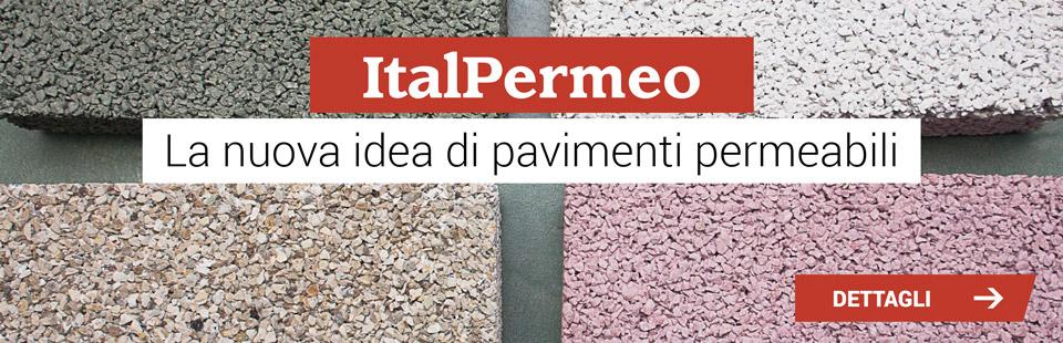 Italcrips presenta ItalPermeo, la nuova idea di pavimenti permeabili